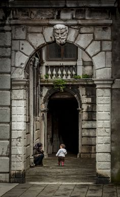 Watching by David Bradbury on 500px - Archway in Venice, Italy