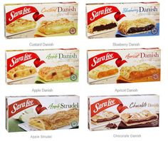 Danish and Strudels