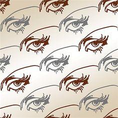 Eye illustration by Barbara Hulanicki