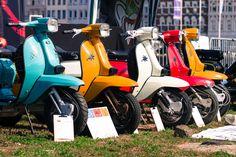 Lambretta DL Display Lambretta Scooter, Motor Scooters, Series 4, Vintage Bikes, Motocross, Greece, Iron, Motorcycle, Vespas
