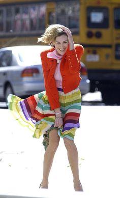 Image result for sarah jessica parker windy dress