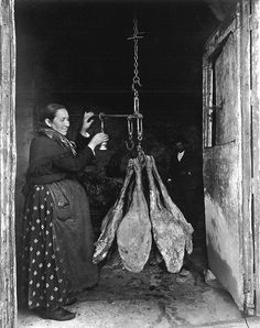 Ruth Matilda Anderson: Tras el jamón de Montánchez, 1928