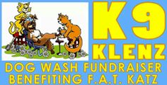 K9 Klenz Dog Wash Fundraiser for F.A.T. Katz, this Sunday, September 14th, noon - 4 pm.  At Boofy's Best.