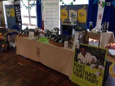 Owens Coffee at the City College Plymouth Fairtrade Festival