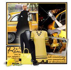 """NY Taxi"" by anna-survillo ❤ liked on Polyvore featuring Haffke, Vero Moda, Lattori, Victoria Beckham, Casadei, Kendra Scott, Cheeky, women's clothing, women's fashion and women"