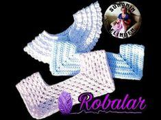DIY booties crochet for beginners Vasilisa Crochet Designs, Knitting Designs, Crochet Patterns, Crochet Yoke, Basic Crochet Stitches, Booties Crochet, Crochet Hats, Frock Patterns, Baby Fabric