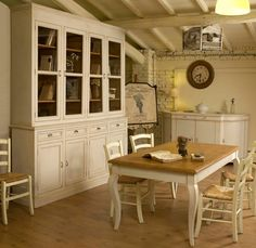 arredamento provenzale: DISPENSA CUCINA PROVENZALE | Cucine ...