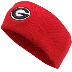 Top of the World Georgia Bulldogs Rock-On Knit Headband - Red