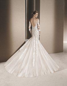 4ba6dd394a16 Rosa. Organza szalon · La Sposa wedding dress
