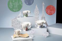 Londýn, Paříž, Řím a Berlín - limitovaná kolekce 2012
