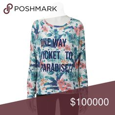 small Product Details This juniors' graphic print sweatshirt is so comfortable you'll want to wear it every day.  PRODUCT FEATURES Ribbed trim Scoopneck Long sleeves FABRIC & CARE Polyester/rayon/spandex Machine wash Tops
