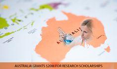 Australia Grants $20M For Research Scholarships