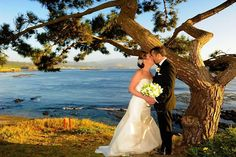 A perfect seaside wedding in Pebble Beach