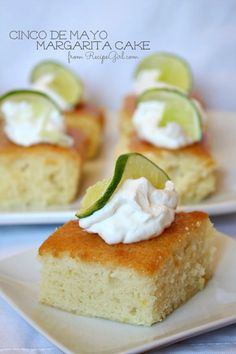 Cinco de Mayo Margarita Cake - RecipeGirl.com