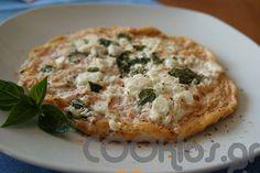 Ομελέτα λευκή με μυρωδικά και ανθότυρο - Συνταγή εύκολες - Σχετικά με Αυγά, Ομελέτες - Ποσότητα 1 άτομο - Χρόνος ετοιμασίας λιγότερο από 30 λεπτά