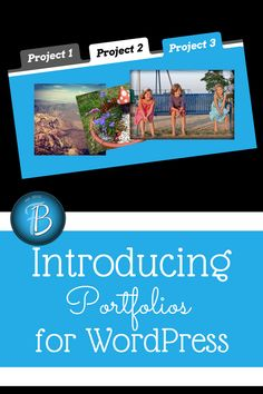 WordPress Portfolios: This is an amazing new feature that allows you to display a mini-blog completely separate from your main feed! more on http://html5themes.org