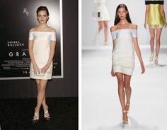 Kim Kardashian Is Already Wearing Spring 2014 Givenchy: Emma Watson looked sleek in J.Mendel Spring 2014 for the NYC premiere of Gravity.  Photos: Getty, IMAXtree