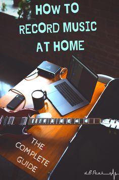 You'll learn the best way to record music at home all while saving yourself some unecessary expenses along the way. Become an independent musician TODAY! Home Recording Studio Setup, Home Studio Music, Singing Lessons, Music Lessons, Music Production Equipment, Music Songs, Music Life, Music Music, Music Stuff