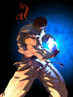 30 Powerful Ryu of Street Fighter Artwork Collection Street Fighter Tekken, Street Fighter Characters, Super Street Fighter, Street Fighter Wallpaper, Super Anime, World Of Warriors, Street Fights, Art Anime, King Of Fighters