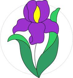 Iris pattern #purple #iris #eox