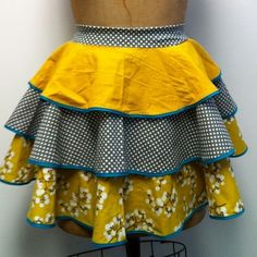 Women's Apron - little miss Mod  Heavy Sugar Aprons  by theHouseofLux, $57.00