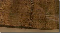 Figure 24- Huldremose Woman's skirt. (National Museum of Denmark 'Det ternede skørt fra Huldremosekvinden')