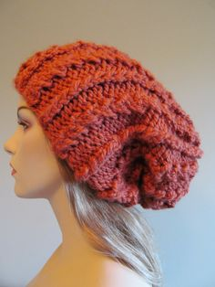 Big slouchy hats! Winter is coming, my friends