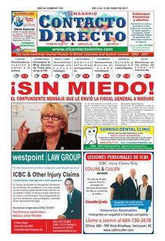SEMANARIO CONTACTO DIRECTO EDICIÓN: 10/07/2017