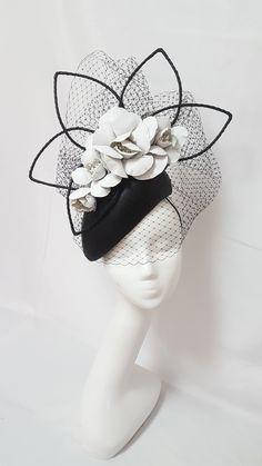 Millinery By Mel. Facinator HatsSinamay HatsFascinatorsHeadpiecesBlack ... b3ab1b35a7de