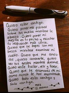 Quiero estar contigo