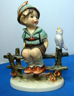 Hummel Figurine: Wayside Harmony, TMK 1circa 1935