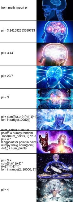 It's best practice to calculate pi yourself in case the libraries got it wrong #programming #coding #software #developers #webdev #sysadmin #programmers #cs