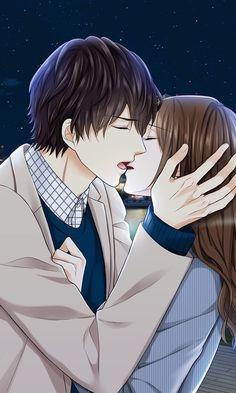 Toma kiriya - main story voltage/anime games anime couples m Anime Amor, Anime Cupples, Anime Kiss, Anime Couples Manga, Cute Anime Couples, Couples In Love, Chibi Couple, Anime Love Couple, Couple Cartoon