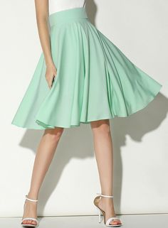 Shop Green High Waist Pleated Skirt online. SheIn offers Green High Waist Pleated Skirt & more to fit your fashionable needs.