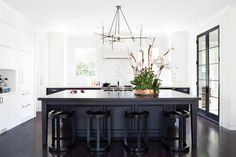 "Donald Lococo Architects | Washington DC | Home and Design Magazine, Summer 2016 issue ""Clean Sweep"":  Meyer and architect Donald Lococo collaborated on the bold new kitchen."