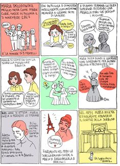 La storia di Marie Curie I parte