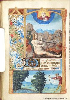 Book of Hours, MS M.197 fol. 89v - Images from Medieval and Renaissance Manuscripts - The Morgan Library & Museum
