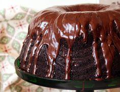 Chocolate & Banana Bundt Cake