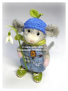 Miss Elsa virkblogg: Keyboard & Bears.