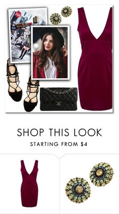 """""""Untitled #1790"""" by aida-nurkovic ❤ liked on Polyvore featuring Marc Fisher and Chanel"""