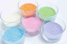 Lav dit eget spiselige glimmer - Helt op til månen - Børnenes maddag Diy Food, Sweet Tooth, Deserts, Food And Drink, Sweets, Sugar, Fancy, Glimmer, Pastel Colors