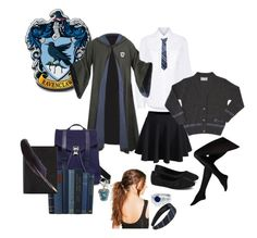 """Harry Potter OC- Emerald"" by gladers4ever on Polyvore featuring Public School, Jellypop, WithChic, Proenza Schouler, Boohoo and Smythson"
