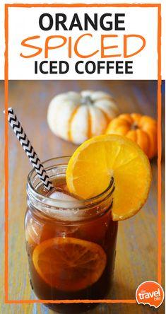 Orange Spiced Iced Coffee ~ http://thetravelbite.com