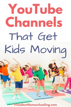 YouTube dance and exercise videos can be a fun addition to your homeschool day. These videos can also be used for short brain breaks throughout the day or as part of a more formal fitness or physical education program. #homeschool #free #PE #exercise  #dance Physical Education Curriculum, Physical Activities For Kids, Health And Physical Education, Exercise Activities, Preschool Learning Activities, Movement Activities, Exercise Videos, Indoor Activities, Toddler Activities