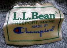 ZONE7STYLE: Vintage LL Bean x Champion Marl Grey T-shirt
