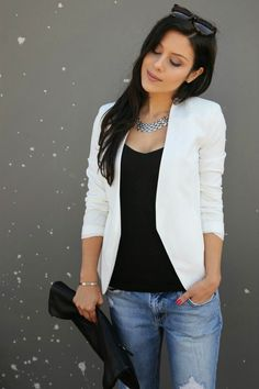Spring/Summer Essential // White Blazer