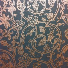 Cole & Son wallpaper £60 per roll. Vivienne westwood. Insects.