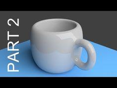 Blender Tutorial For Beginners: Coffee Cup - 2 of 2