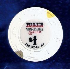 Bill's Gamblin' Hall  Las Vegas casino poker chip