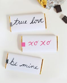 Printable Candy Bar Wrappers from MerMag